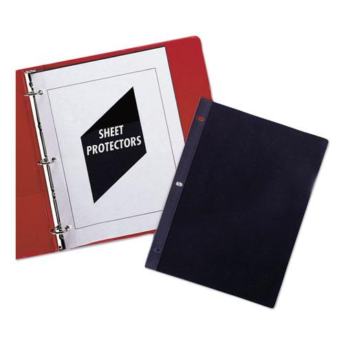 Traditional Polypropylene Sheet Protectors, Standard Weight, 11 x 8 1/2, 100/BX
