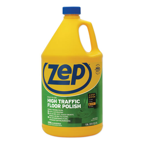 High Traffic Floor Polish, 1 gal Bottle