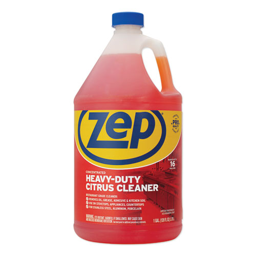 Cleaner and Degreaser, Citrus Scent, 1 gal Bottle
