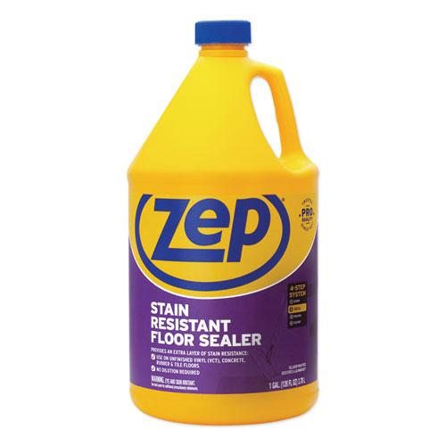 Zep Commercial® Stain Resistant Floor Sealer, Unscented, 1 gal, 4/Carton