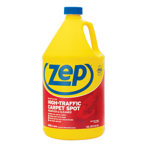 Zep Commercial® High Traffic Carpet Cleaner, 1 gal, 4/Carton