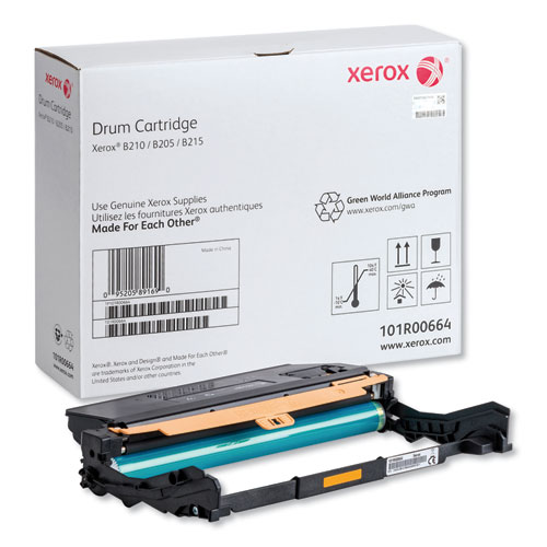 101R00664 Drum Unit, 10,000 Page-Yield