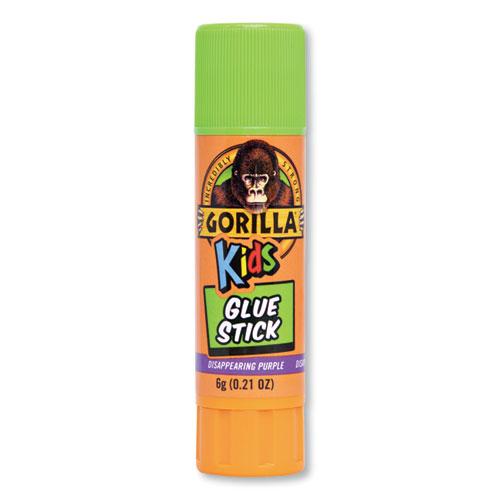 School Glue Sticks, 0.21 oz/Stick, Dries Clear, 24/Pack