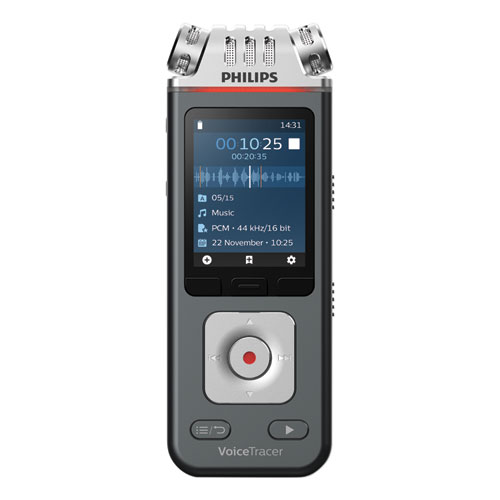 Voice Tracer 6110 Digital Recorder, 8 GB, Black
