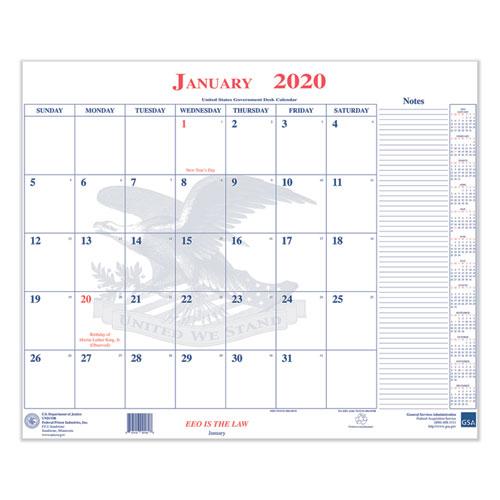7510016648788, Calendar Blotter, 18 x 22, 2021