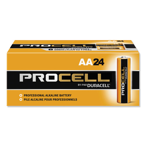 Duracell® Procell Alkaline AA Batteries, 24/Box