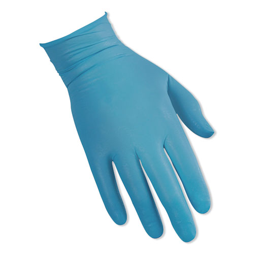 G10 Flex Blue Nitrile Gloves, Blue, 9.5, Large, 100/Box, 10 Box/Carton