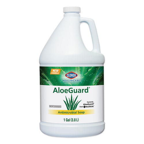AloeGuard Antimicrobial Soap, Aloe Scent, 1 gal Bottle, 4/Carton