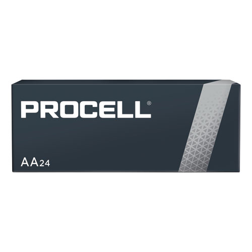 Procell Alkaline AA Batteries, 24/Box | by Plexsupply