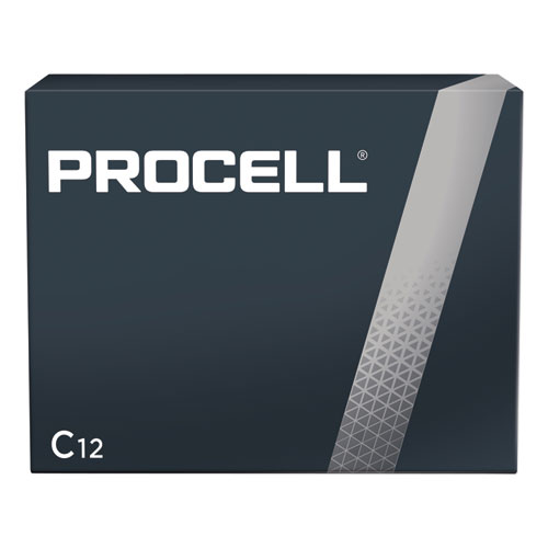 Procell Alkaline C Batteries, 12/Box | by Plexsupply