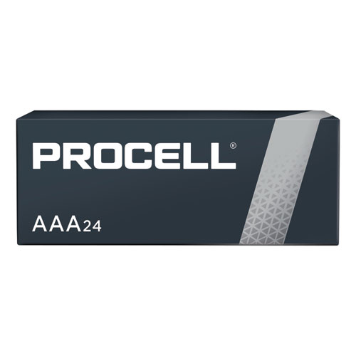 Procell Alkaline AAA Batteries, 24/Box | by Plexsupply