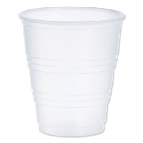 Dart® Conex Galaxy Polystyrene Plastic Cold Cups, 5oz, 100 Sleeve, 25 Sleeves/Carton