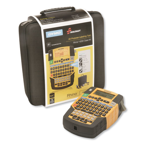 7490016576125 Dymo/SKILCRAFT All-Purpose Labeling Tool w/QWERTY Keyboard, 2 Line