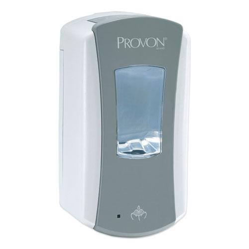 """PROVON® LTX-12 Dispenser, 1200 mL, 5.75"""" x 3.38"""" x 10.63"""", Gray/White, 4/Carton"""