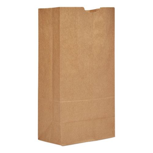 Grocery Paper Bags, 20 lbs Capacity, 20, 8.25w x 5.94d x 16.13h, Kraft, 500 Bags