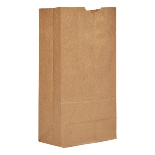 Grocery Paper Bags, 50 lbs Capacity, 20, 8.25w x 5.94d x 16.13h, Kraft, 500 Bags