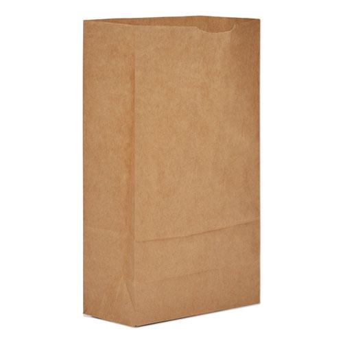 "General Grocery Paper Bags, 50 lbs Capacity, #6, 6""w x 3.63""d x 11.06""h, Kraft, 500 Bags"