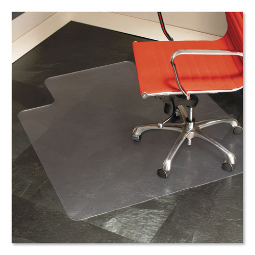 Multi-Task Series Chair Mat for Hard Floors, Heavier Use, 45 x 53, Clear | by Plexsupply