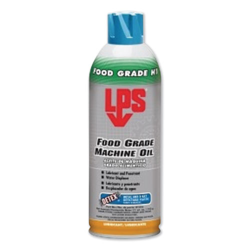 Food Grade Machine Oil, 11 oz Aerosol Can, 12/Carton