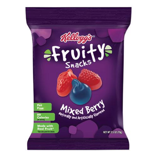 Kellogg's® Fruity Snacks, Mixed Berry, 2.5 oz Packet, 48/Carton
