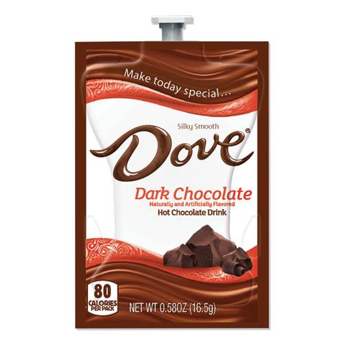 Dark Hot Chocolate, 0.58 oz FreshPack, 72/Carton