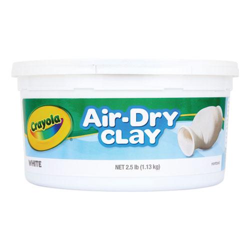 Air-Dry Clay, White, 2 1/2 lbs