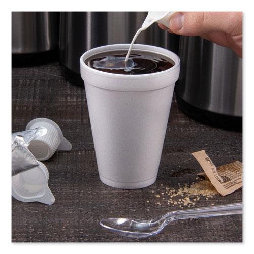 Foam Drink Cups, 12oz, White, 25/Bag, 40 Bags/Carton