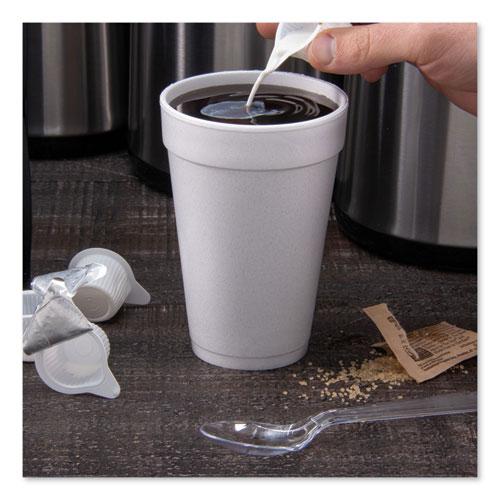 Foam Drink Cups, 16oz, White, 25/Bag, 40 Bags/Carton