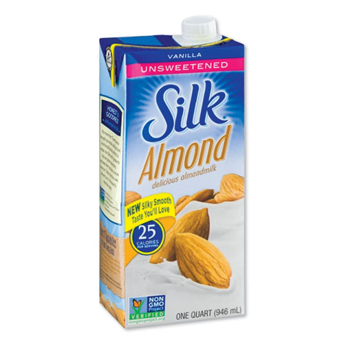Almond Milk, Unsweetened Vanilla, 32 oz Aseptic Box