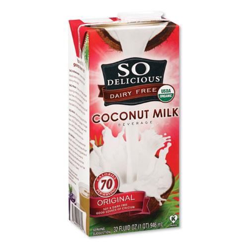 Coconut Milk, Original, 32 oz Aseptic Box