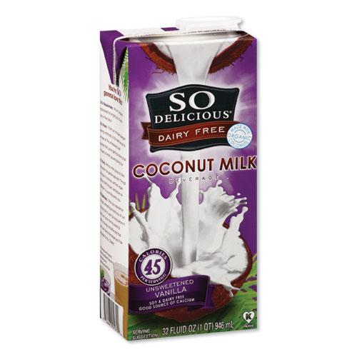 Coconut Milk, Unsweetened Vanilla, 32 oz Aseptic Box