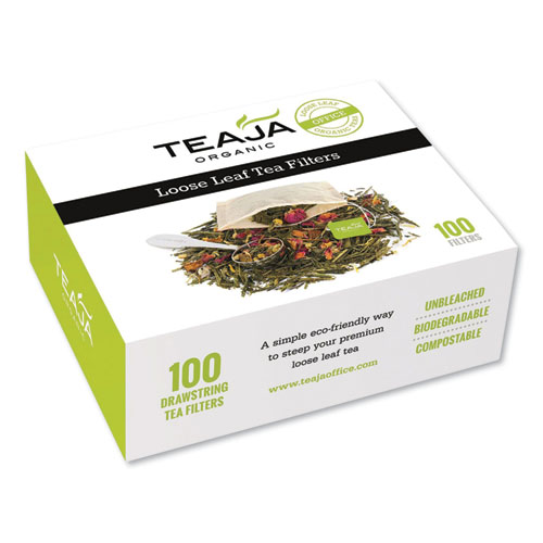 Loose Leaf Tea Filters, 100/Box