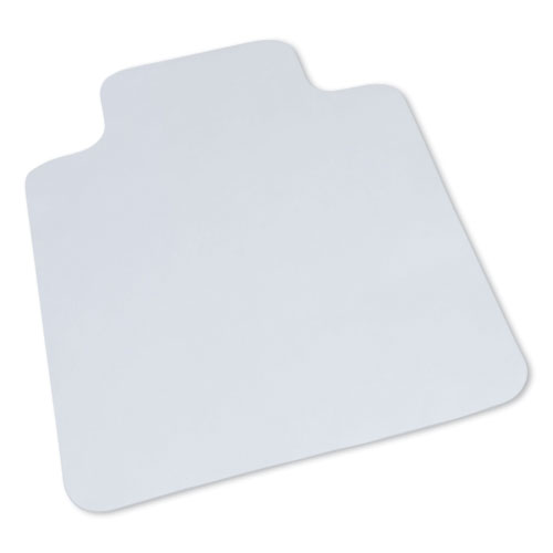 Hard Surface Chair Mat, Lip, 36 x 48, Clear