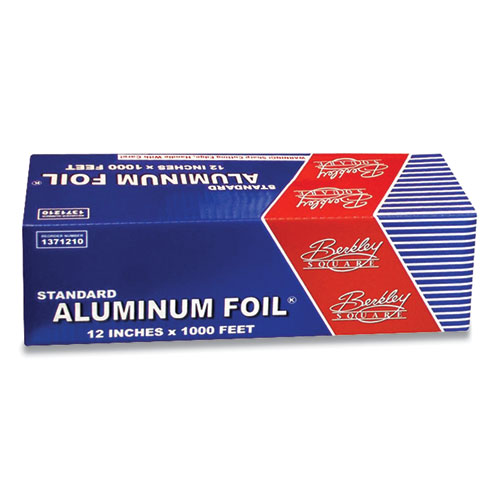 "Berkley Square Standard Aluminum Foil Roll, 12"" x 1,000 ft"