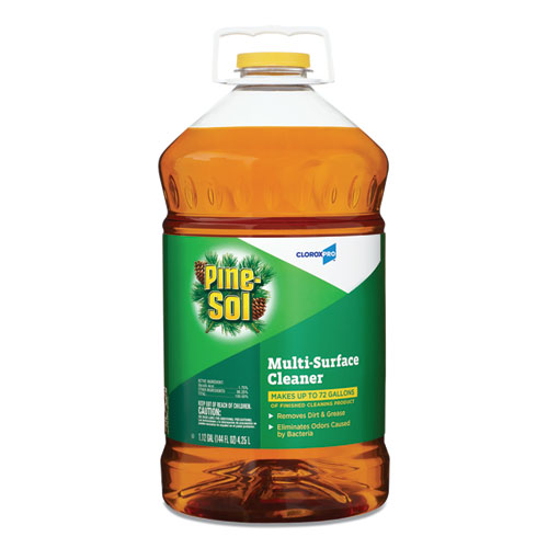 Multi-Surface Cleaner Disinfectant, Pine, 144oz Bottle