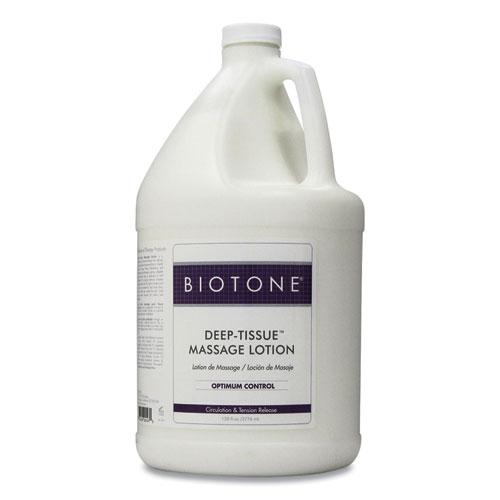 Deep Tissue Massage Lotion, 1 gal Bottle, Unscented