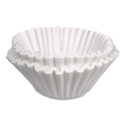 Coffee Filters, 12-Cup Size, White, 3000/Carton