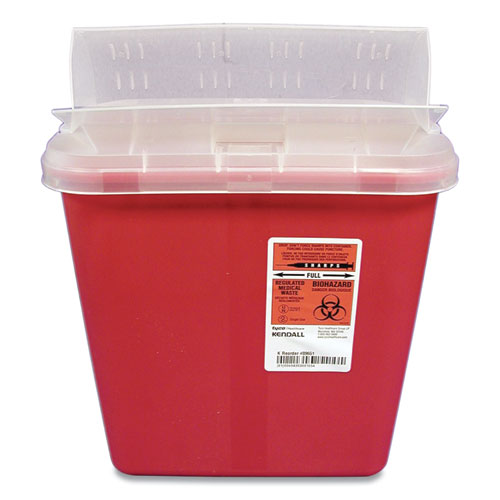 Sharps Containers, 2 gal, Red