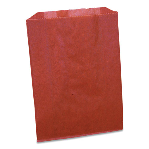 Waxed Sanitary Napkin Disposal Liners, 7.5 x 0.3 x 10.3, Brown, 500/Carton