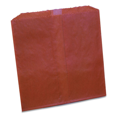 Waxed Sanitary Napkin Disposal Liners, 8.1 x 06. x 9.05, Brown, 500/Carton