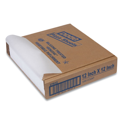 Yellow Label Parchment Pan Liner, 12 x 12, 1000/Carton