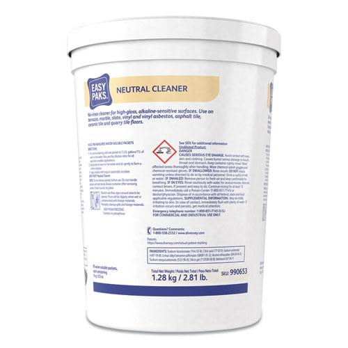 Neutral Cleaner, .5oz Packet, 90/Tub, 2 Tubs/Carton