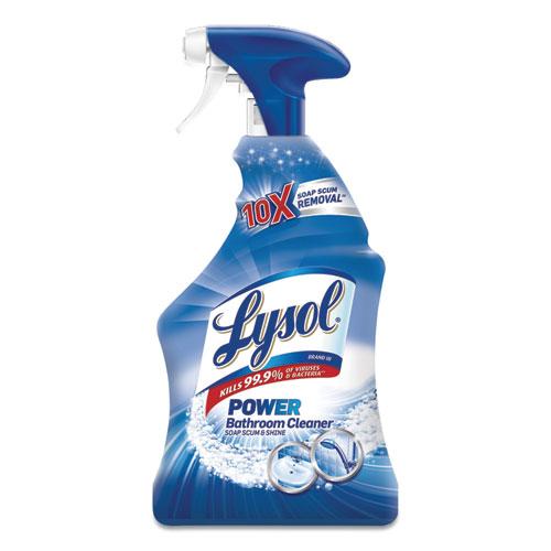 Disinfectant Bathroom Cleaners, Liquid, 32oz Bottle, 12/Carton