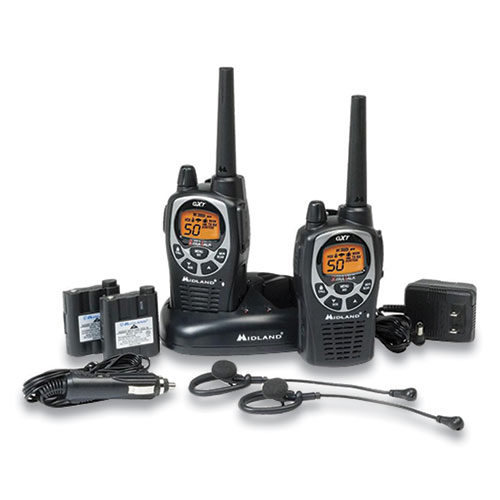 GXT1000VP4 Two-Way Radio, 50 Channels