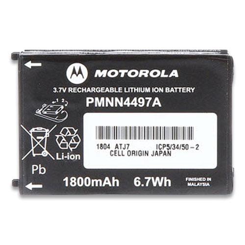 Motorola® Li-Ion Battery for CLS Series Radios, 3.7 V, 1800 mAh