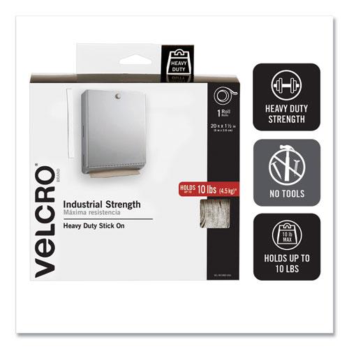 """NEW VELCRO 90198 2/"""" X 15FT ROLL WHITE FASTENER TAPE MAXIMUM STRENGTH"""