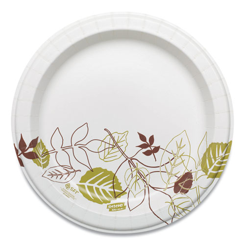 Pathways Soak Proof Shield Heavyweight Paper Plates, WiseSize, 8 1/2, 500/Ctn