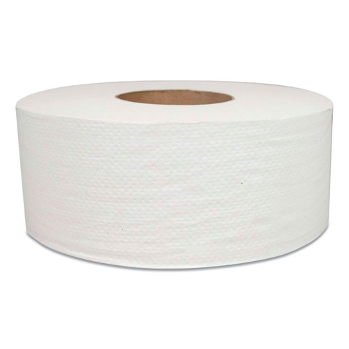 Morcon Tissue Jumbo Bath Tissue, Septic Safe, 2-Ply, White, 700 ft, 12 Rolls/Carton
