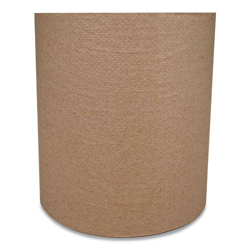 """Morcon Tissue Morsoft Universal Roll Towels, 8"""" x 800 ft, Brown, 6 Rolls/Carton"""