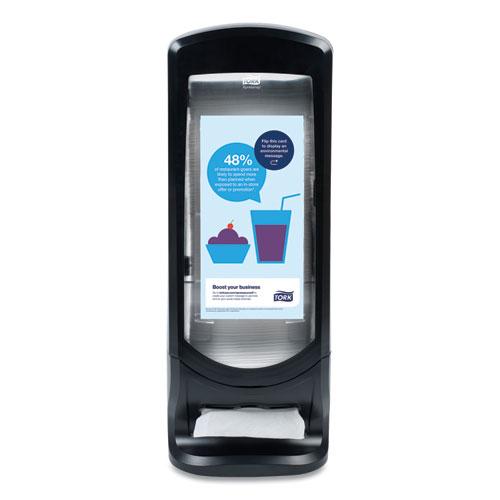 Xpressnap Stand Napkin Dispenser, 9 1/4W x 9 1/4D x 24 1/2H, Black